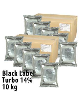 Black Label Turbojäst 14%, 10 kg